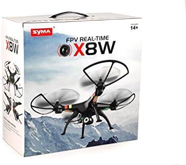 RC Drone SYMA X8W VENTURE Wi-Fi FPV NEGRO Videocamera HD ...