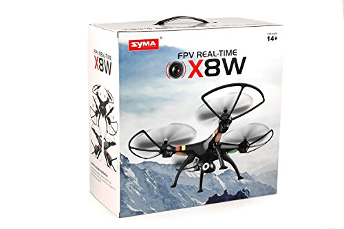Syma X8W 2.4Ghz 4CH RC Headless FPV (Real...