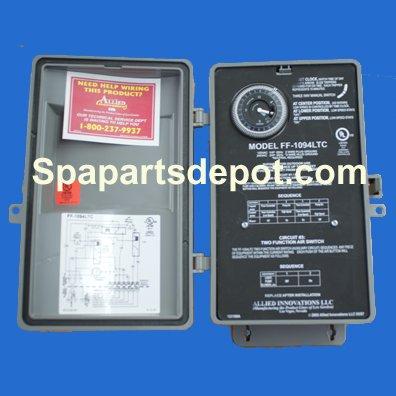 - Len Gordon 10-850-8007 Four Function Control, 3 Circuits, 910108-007