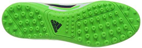 Adidas F5 Tf Cwhite/Ricblu/Sgreen, Weiss Grün, 6