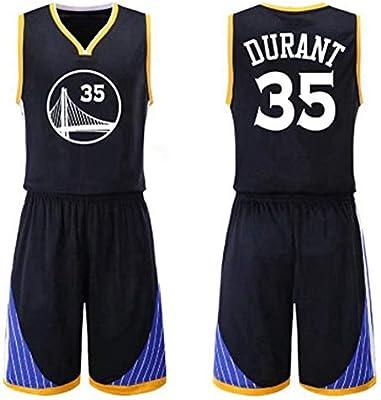 HS-wtyu04 Golden State Warriors # 35 Kevin Durant Uniformes del ...