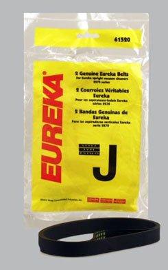 5 Genuine OEM Eureka Vac Belts Type J Fits Eureka Bagged Vacuum Caleaners