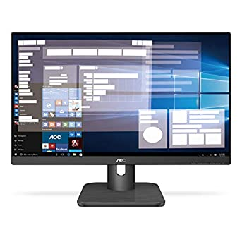 Image of Monitors AOC 24E1Q 23.8' Full HD 1920x1080 Monitor, IPS, 5ms FlickerFree, HDMI/DisplayPort/VGA, VESA, EPEAT Silver