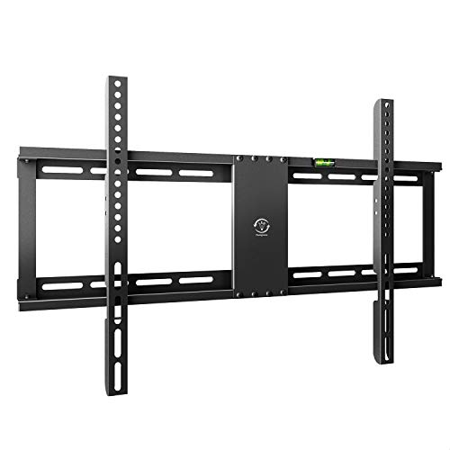 Ultra Slim Low Profile TV Wall Mount Bracket for 32-70 Inch LED LCD OLED QLED Plasma HDTV Smart TVs, Fits 16