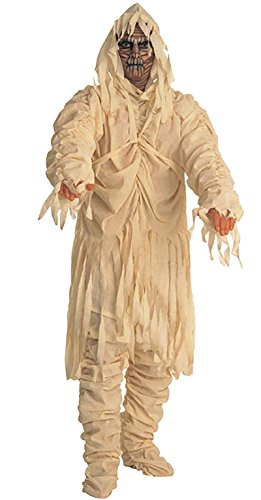 Dantiya Mens Zombie Scary Horror Ghost Clothing Halloween Cosplay Costume (Mummy) ()