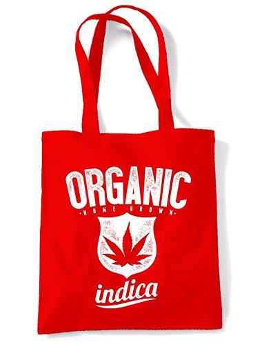 Indica Hombro Rojo Orgánica Bolsa Algodón La Marihuana Compra De De Cannabis dZ0qwF