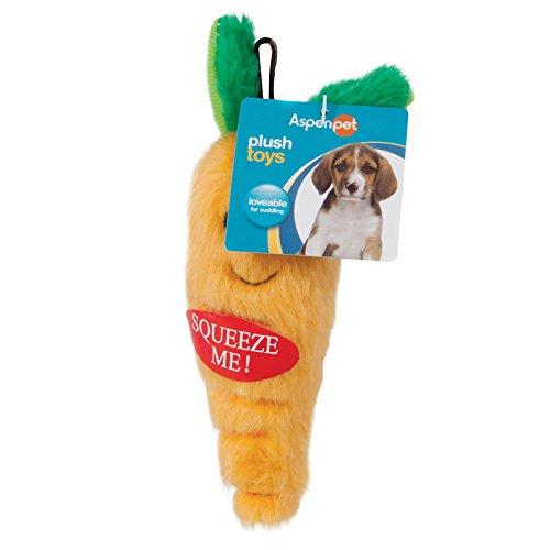 ASPEN PET SMALL DOG & PUPPY PLUSH SMALL CARROT