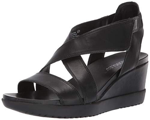 oom Sandal, Black Leather, 7 M US ()