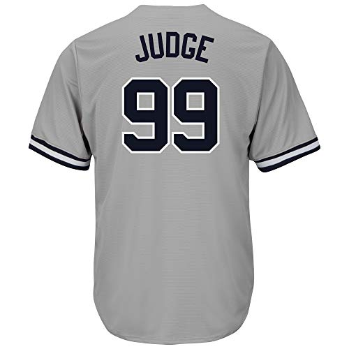 0d1a5ad5f NIOOP Men's/Women's/Youth_Aaron_Judge_Gray_Player_Jersey