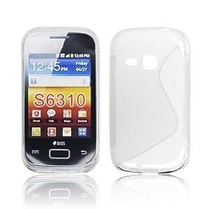 BlueTrade BT-TPU-SS6310T Funda Transparente funda para teléfono móvil - Fundas para teléfonos móviles (Funda, Samsung, Samsung Galaxy Young S6310, Transparente)
