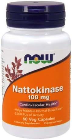 Now Foods, Nattokinase 100mg, 60 Capsules