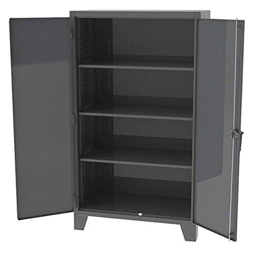 (Greene Manufacturing - EX-783-172 - Heavy Duty Storage Cabinet, Charcoal, 72 H X 36 W X 24 D, Unassembled)