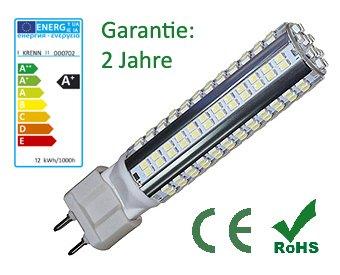 LED KRENN G12-12, 12 Watt, G12 casquillo, 1200 Lumens, luz blanca cálida: Amazon.es: Iluminación
