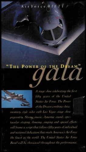 The Power Of The Dream Gala  Air Force Fifty   International Air Force Symposium  Vhs Video