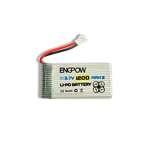 Elevin(TM) Upgrade 3.7V 1200MAH Battery for Syma X5 X5C X5SC X5SW-1 X5SW