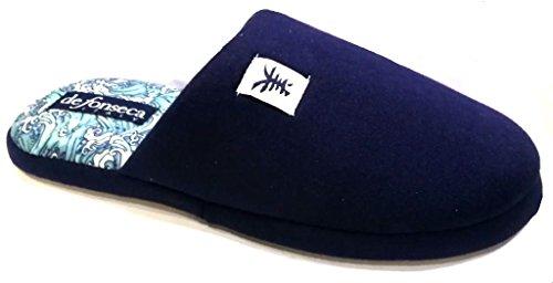Bleu de Bleu pour fonseca Chaussons Femme xCwRpqC