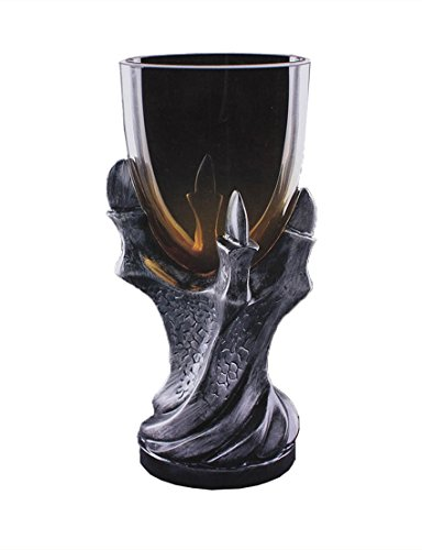 3D Dragon Claw Goblet , Personality Whiskey Resin Glass Goblet - Goblet 8.5 Glass