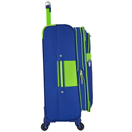 U.S Traveler Alamosa 6-Piece Luggage Set - 3 Spinners and 3 packing...