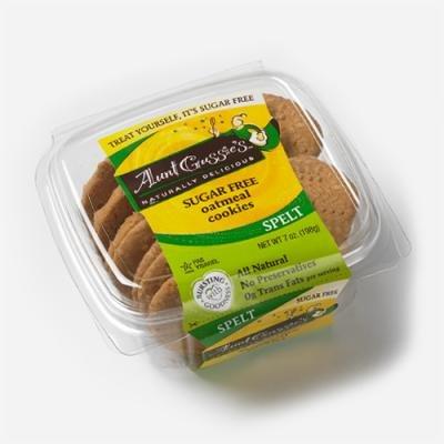Aunt Gussies Spelt Oatmeal Cookies -- 7 oz