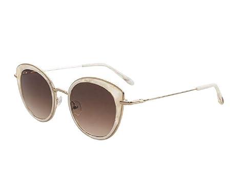 Woodys Barcelona - Gafas de sol KARA 03 oro perla: Amazon.es ...