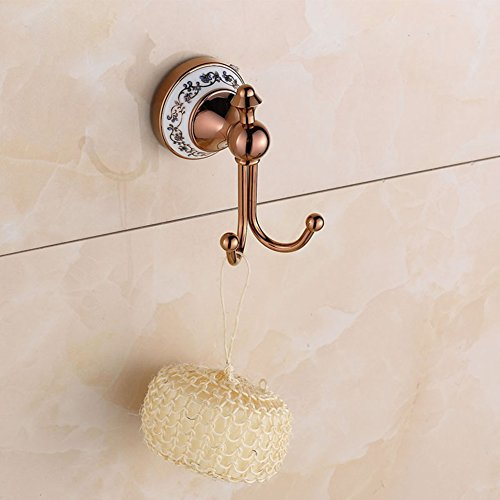 Copper rose gold hook/coat and hat hook / wall-mounted bathroom hardware best