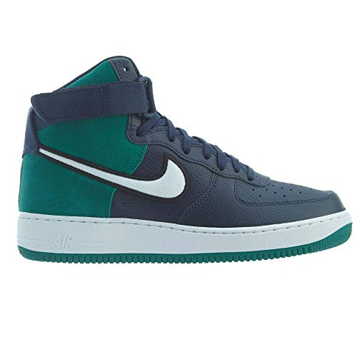 Nike Men's Air Force 1 'Seahawks' High '07 LV8 1 Green/Blue AO2442-400 (Size: 8)