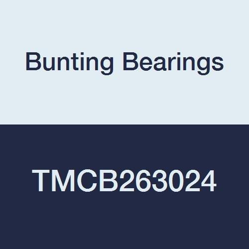Cast Bronze C96900 Bearings Bunting Bearings TMCB263024 Sleeve Plain 1-5//8 Bore x 1-7//8 OD x 3 Length 1-5//8 Bore x 1-7//8 OD x 3 Length TMCB263024A1