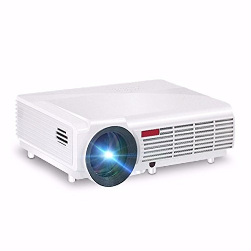 260 Multimedia 3000 Lumens Hd Led Projector Home Theater: ˜�FREE SHIPPING★Wifi Projector,ELEGIANT 3000 Lumens Long