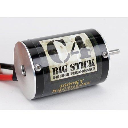 UPC 605482334515, C4 Big Stick Brushless 540 Motor 4600Kv DYN3720