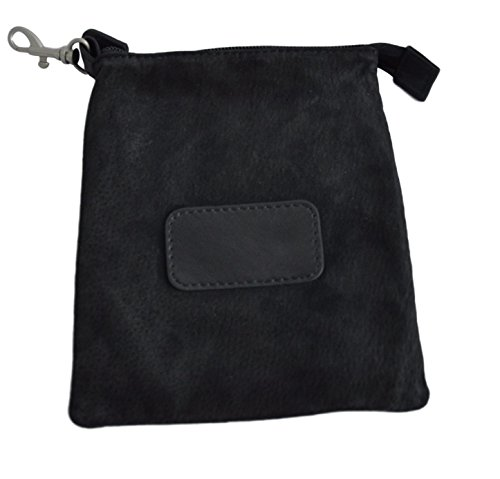 Royce Leather Golf Valuable Pouch (Suede, ()