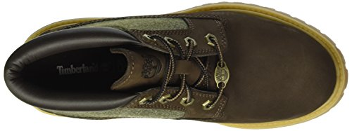 Timberland Nellie Double F/L, Stivali Chukka Donna Marrone (Red Briar Nubuck With Olive Feltred Briar Nubuck With Olive Felt)