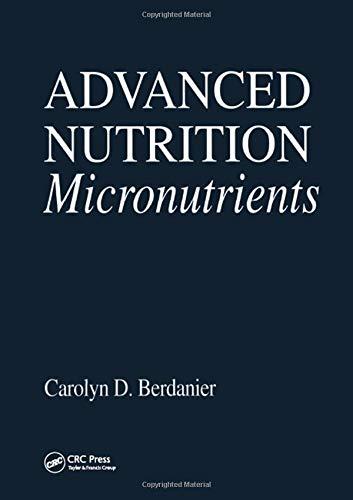 Advanced Nutrition Micronutrients (Modern Nutrition)