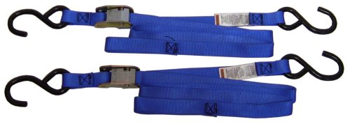 Ancra 40888-34-02 Blue Original Premium Cam Buckle Tie Down, 4 Pack ()