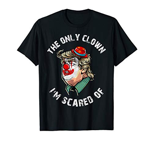Clown Prank Anti Donald Trump Democrat Halloween T -