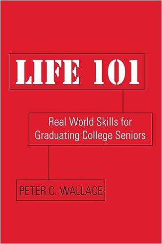 Life 101: Real World Skills for Graduating College Seniors