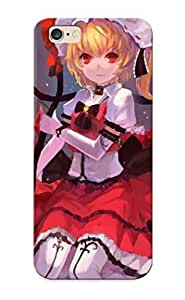 New Fashionable UrYWD0lptTs Cover Case Specially Made For Iphone 6 Plus(blondes Video Games Touhou Multicolor Flowers Skirts Weapons Vampires Pantyhose Red Eyes )