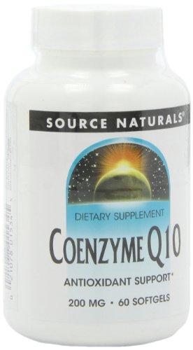 Source Naturals Coenzyme Q10, 200 mg, 60 gélules