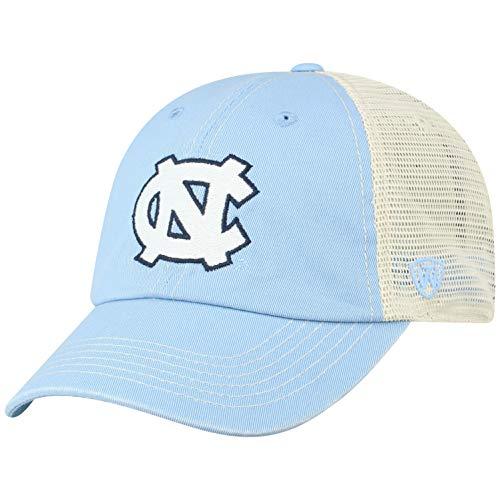 Top of the World NCAA North Carolina Tar Heels Men's Vintage Mesh Adjustable Icon Hat, Light Blue -