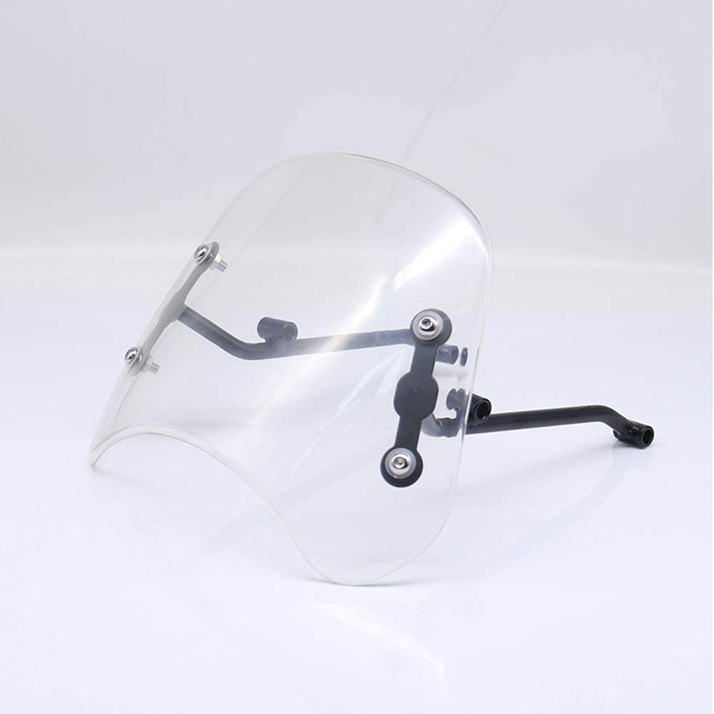 HONGPA 5-7 inch Motorcycle Windshield Windscreen for Triumph T100 motorcycle