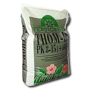 Potasa de thomas Abono vegetal Fertilizante Base De Fertilizante De Potasa, 25 kg