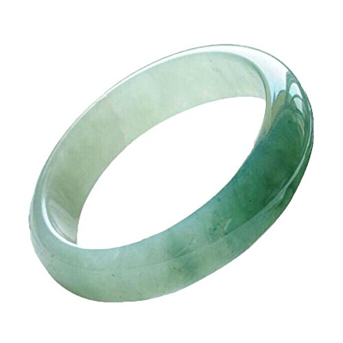 Old Green Jade Bracelet Bangle - Zhiming Burma Jade a goods bracelet son old pit fluttering flower ice glutinous kind of female concubine Jade Bracelet
