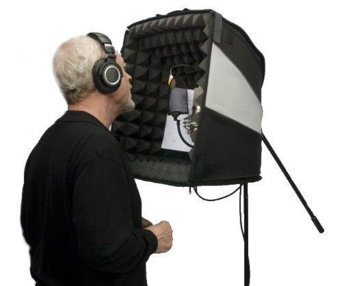 El porta-booth Pro–Su Estudio de grabación en el hogar y en la carretera