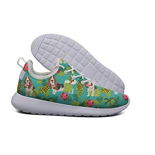 design Hound Womens Basset Soft Lightweight Mesh Flex 2 Shoes art cactus Hoohle Sports Roshe Running Hawaiian Road qIxZwR4F