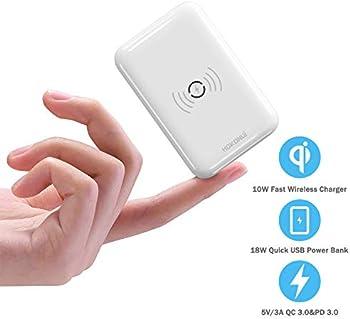 Hokonui 10000mAh Wireless Portable Power Bank