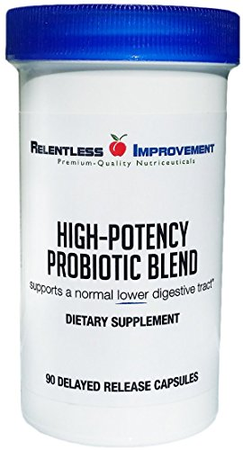 Cheap Relentless Improvement Probiotic Blend with PreforPro Prebiotic Targets Lower Digestive Tract Support