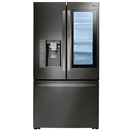 LG 30 CF InstaView 3-Door French Door Black Stainless Steel