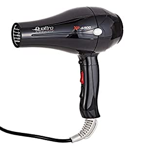 Quattro Professional Hair Dryer Ionic Black, XP 6900-3MAUA670520090
