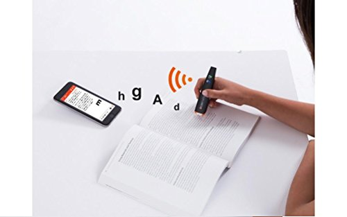 Scanmarker Air Pen Scanner - OCR Digital Highlighter and Reading Pen - Wireless (Mac Win iOS Android)