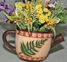 Tea Ceramic Planter - 6