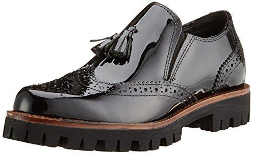 Mocassins 018 Tozzi Premio black Patent Femme Noir 24728 Marco wt8Cqxpw
